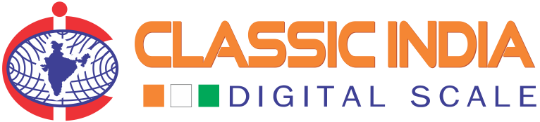 classic india digital scale maker logo 2